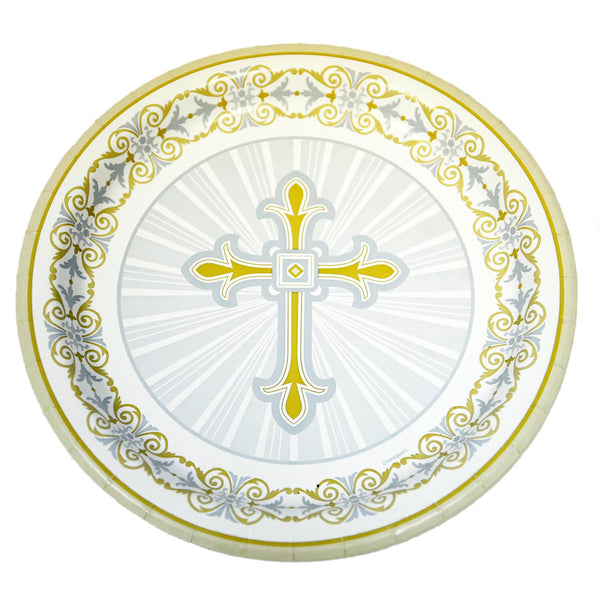 "Radiant Cross 9"" Platess"