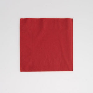 Red Beverage Napkins