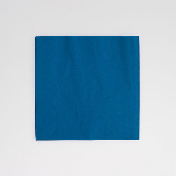 Blue Beverage Napkins