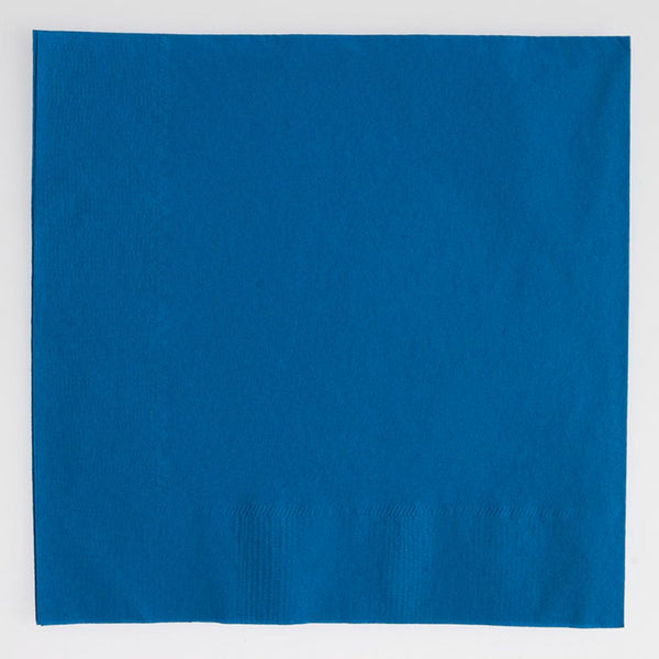 Blue Lunch Napkins