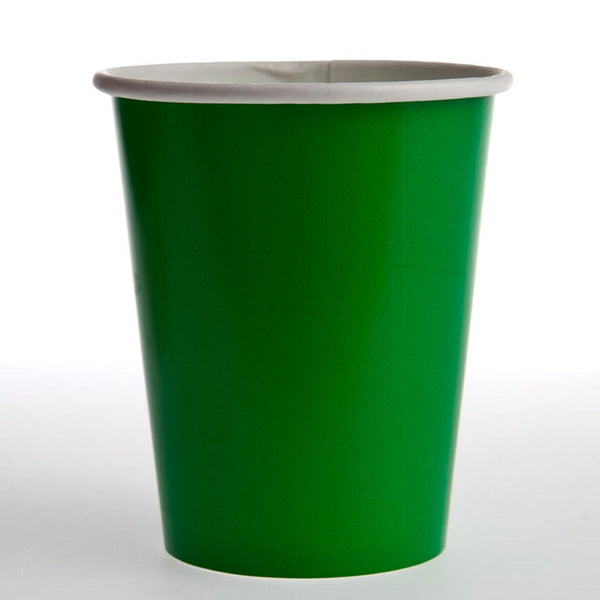 Green 12 oz. Cups