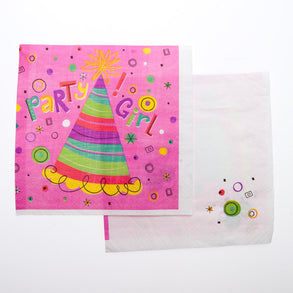 Party Girl Lunch Napkins