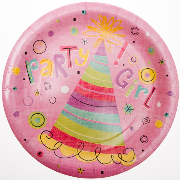 "Party Girl 9"" Plates"