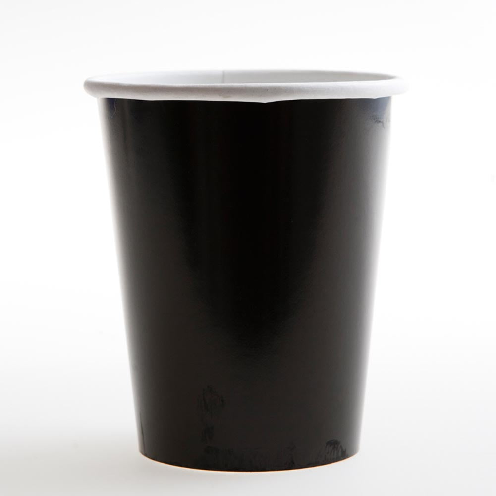 Black 12 oz. Cups