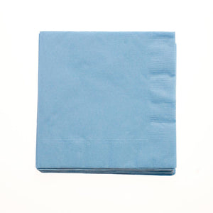 Baby Blue Beverage Napkins