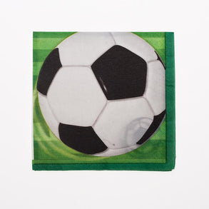 Soccer Ball Beverage Napkins