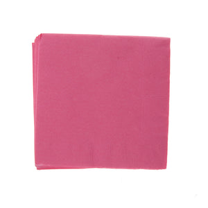Hot Pink Beverage Napkins