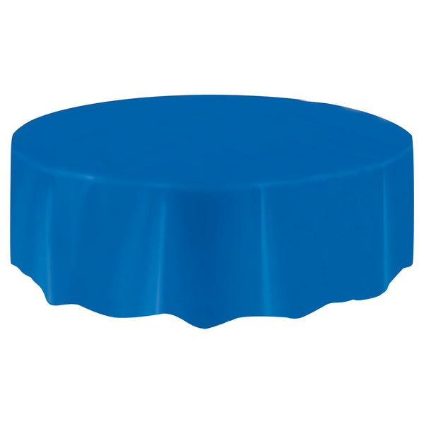 Blue Round Tablecover