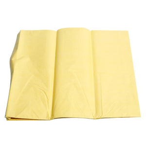 Pale Yellow Tissue Sheets