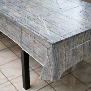 Rustic Wood Tablecover