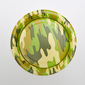 "Camouflage 7"" Plates"