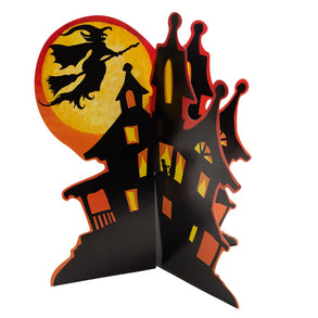3D Haunted House Centerpiece