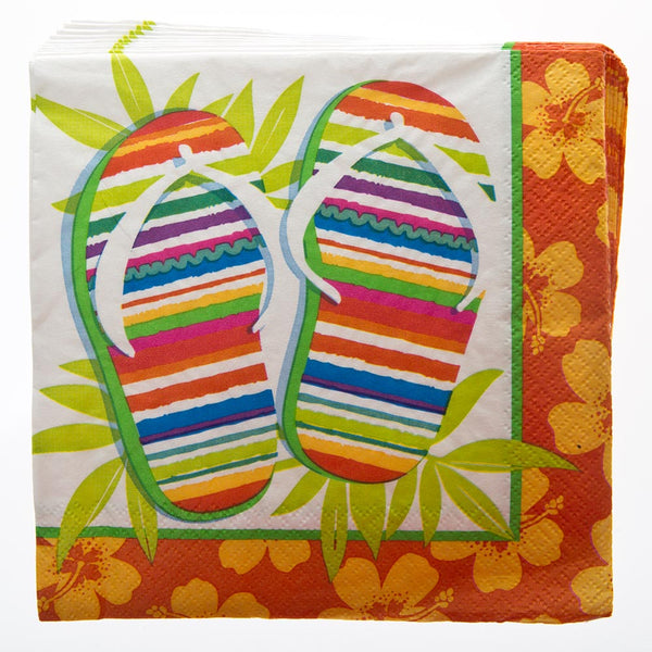 Flip Flop Lunch Napkins