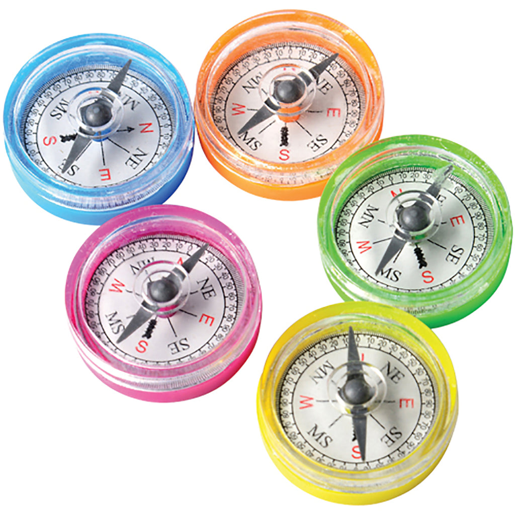Assorted Color Toy Compass