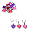 Heart Bling Keychains