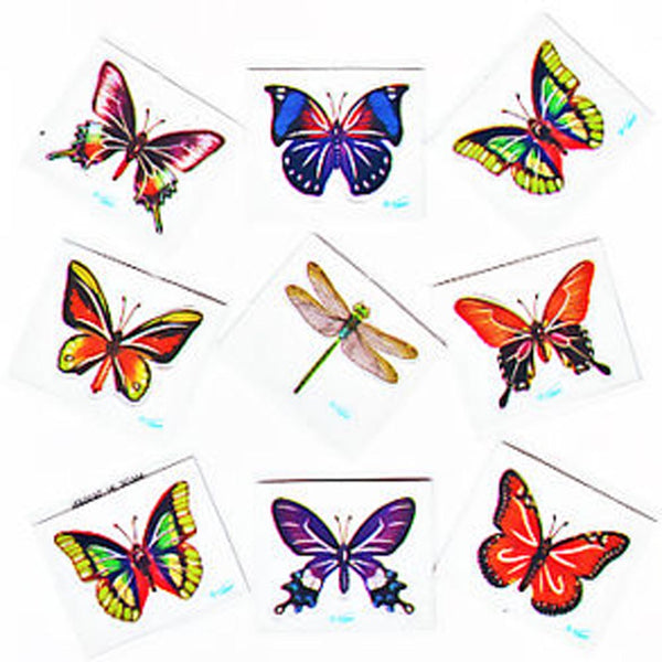 Butterfly & Dragonfly Sticker
