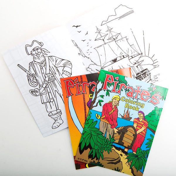 Pirate Coloring Books