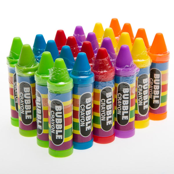 Crayon Bubble Bottles