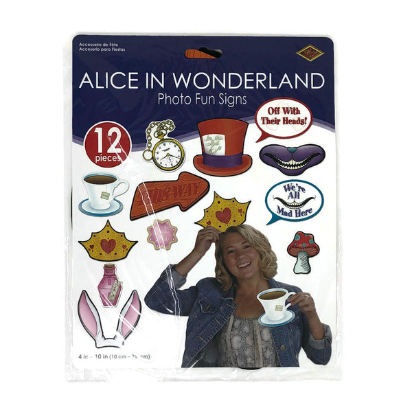 Alice In Wonderland Photo Fun Signs