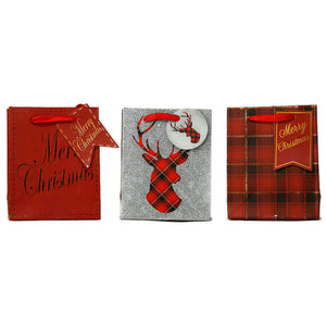 Small Let it Snow Gift Bag