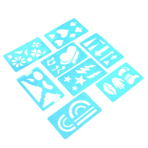 Face Painting Stencil Set