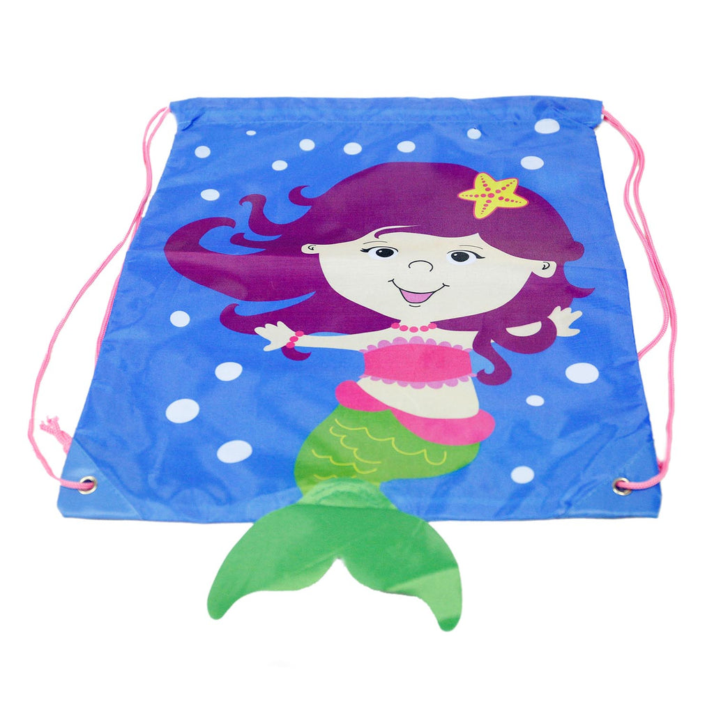 Mermaid Drawstring Backpack