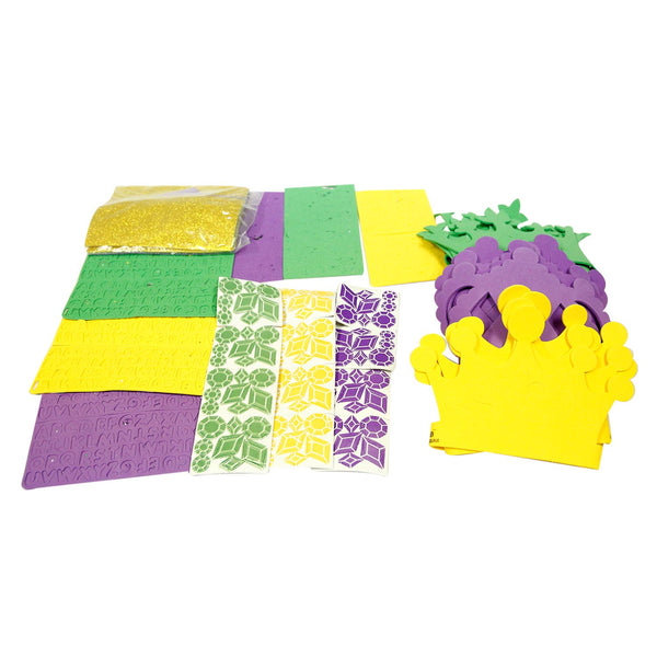 Mardi Gras Crown Craft Kits