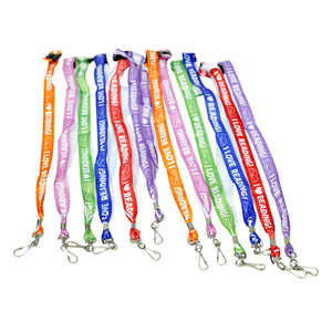 I Love Reading Lanyards