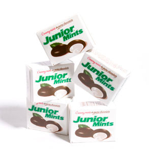 Junior Mints 72 Snack Size Boxes