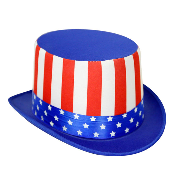 Patriotic Flag Top Hat