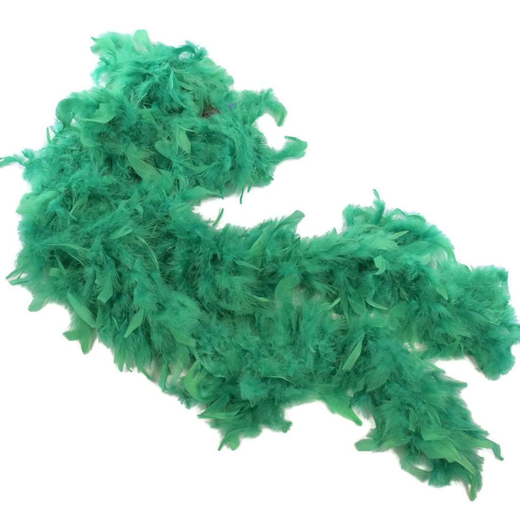 Kelly Green Feather Boa