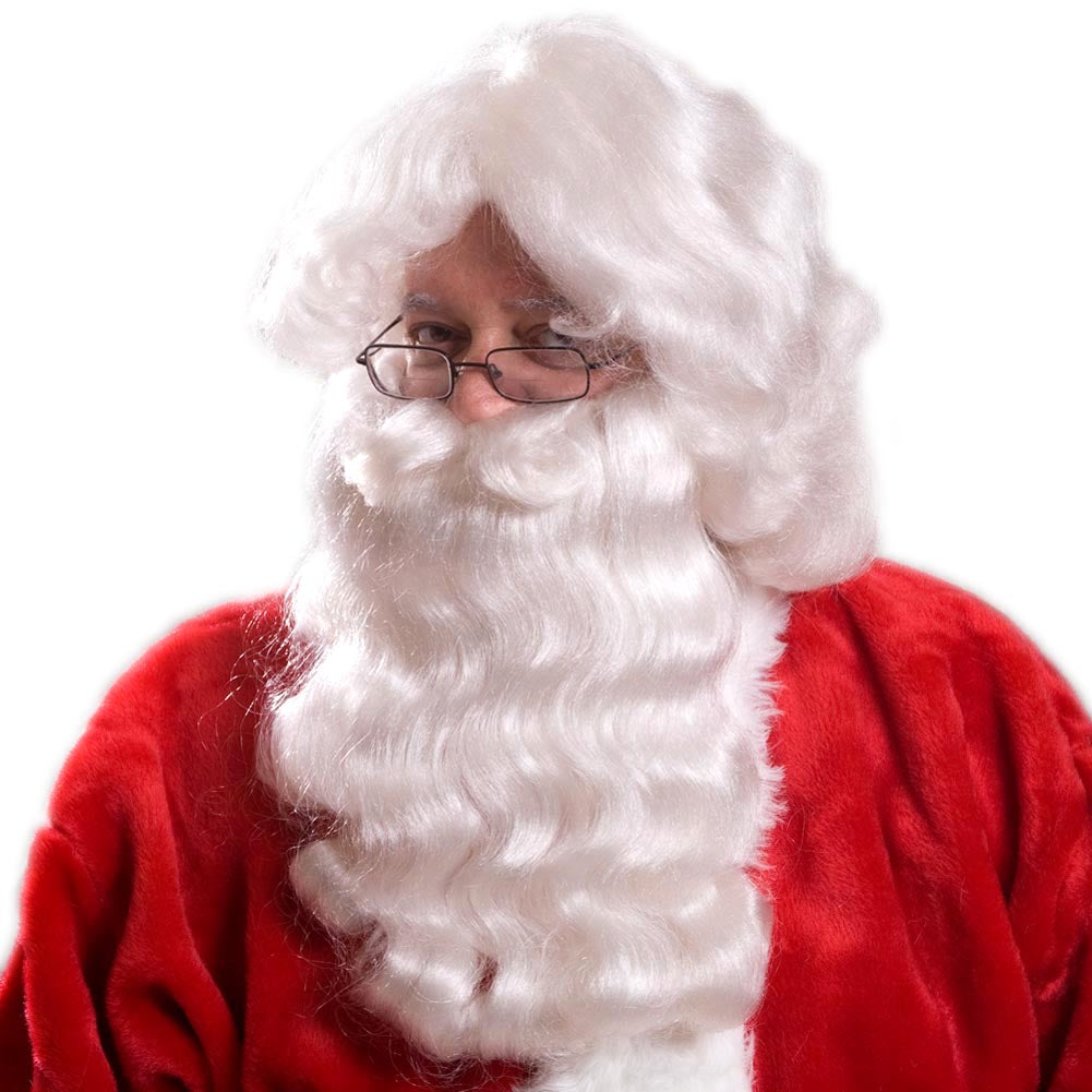 Standard Santa Wig And Beard Set