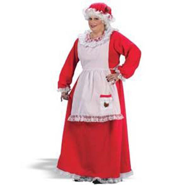 Plus Size Mrs. Claus Costume