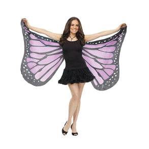 Purple Fabric Butterfly Wings