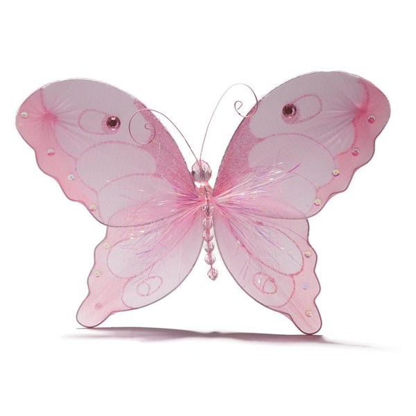 "10"" Nylon Pink Butterfly"