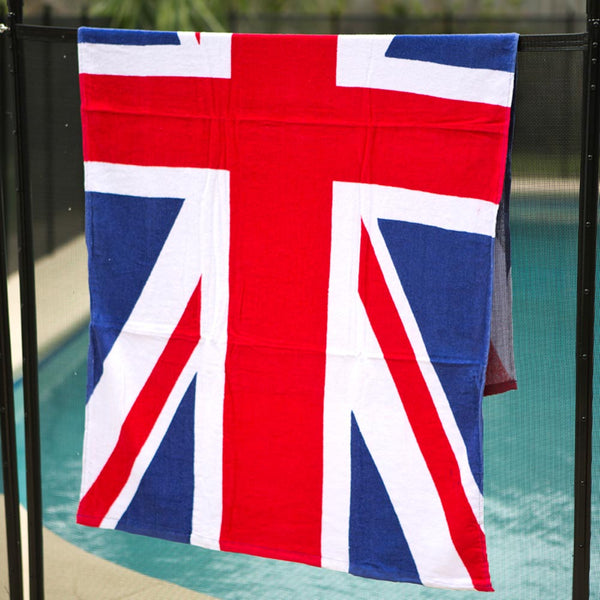 United Kingdom Beach Towel