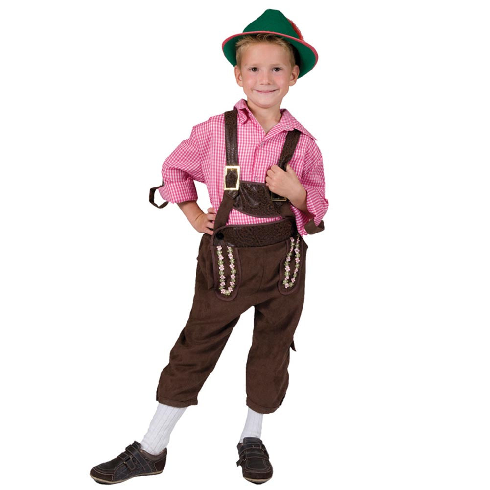 Boys Alps Away Oktoberfest Pants (Small)