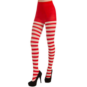Candy Cane Christmas Tights