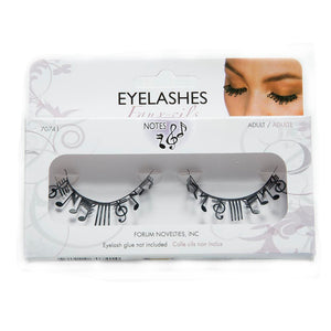 Music Note False Eyelashes