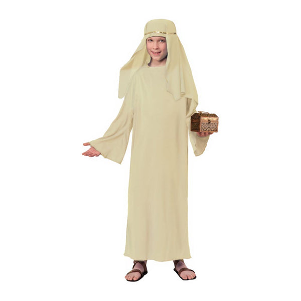 Children's Ivory Wiseman Gown & Headpiece (M)