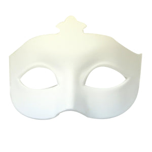 White Plastic Eye Mask
