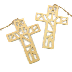 "6"" Diecut Craft Crosses"