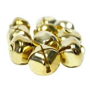 "1"" Gold Jingle Bells"