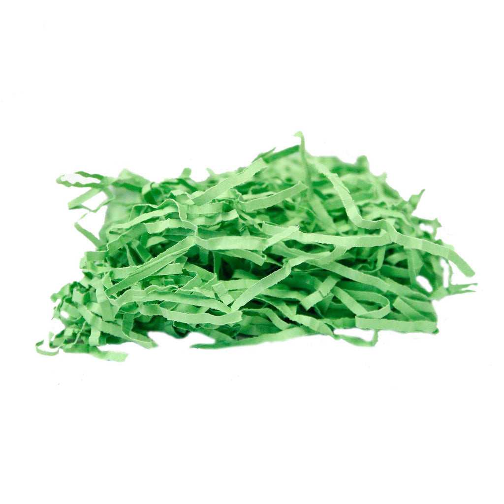 Green Crinkle Paper Shred