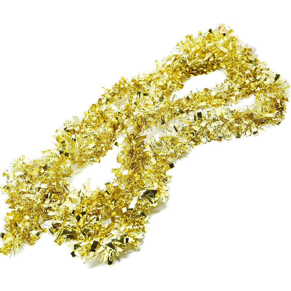 9 Foot Gold Christmas Garland