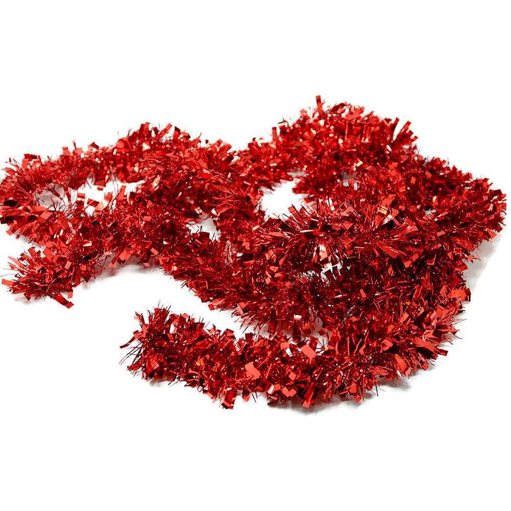 9 Foot Red Christmas Garland