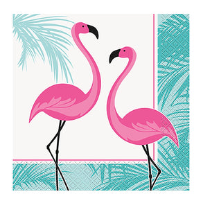 Flamingo Party Lunch Napkins