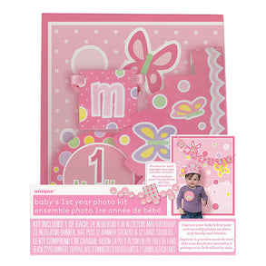 Baby Girl Photo Kit