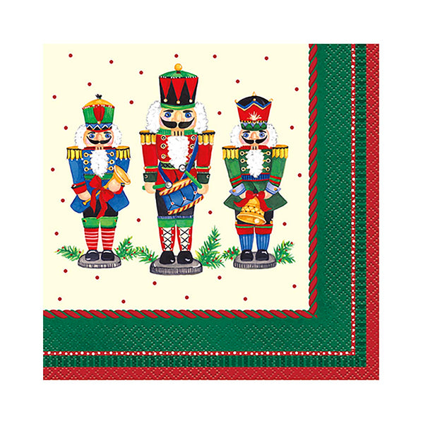 Nutcracker Christmas Lunch Napkins