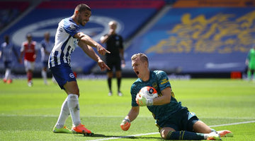 Brighton's Neal Maupay apologises to Arsenal's Bernd Leno but says Gunners must 'learn humility'